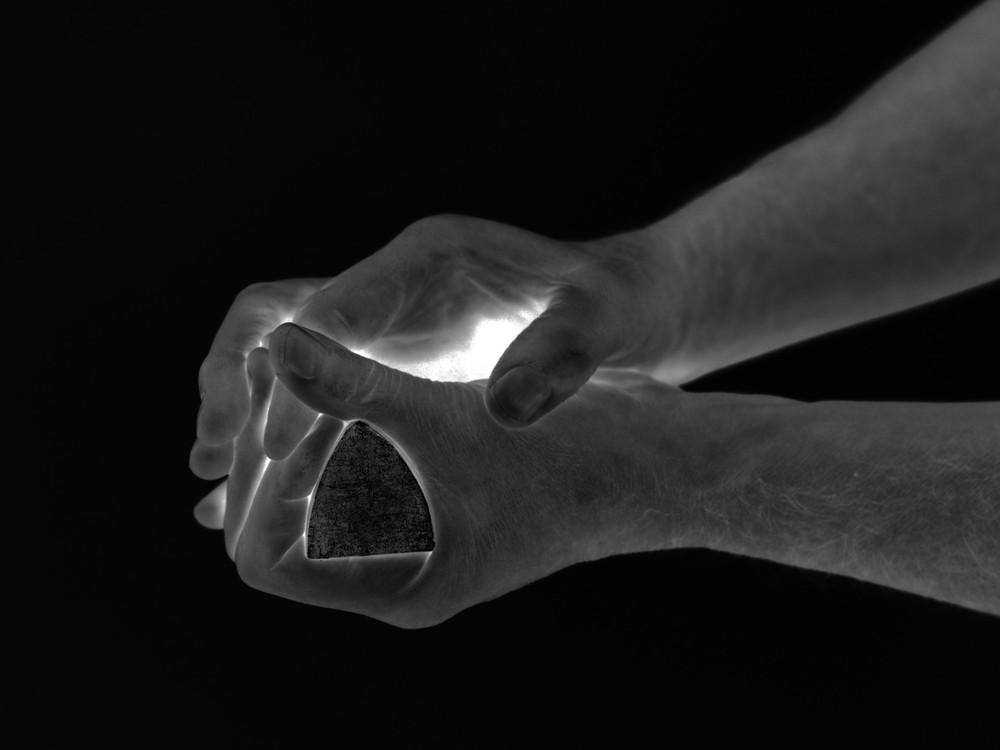 Giuseppe Penone: Geometria nelle mani – 4 aprile, 2004 (Detail) © Akademie Der Kunste, VG Bild-Kunst, Bonn 2014