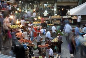 From the series, Bazaar, © Reza Golchin