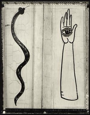 Santeria Symbols, Santiago de Cuba, 2002. © Elaine Ling