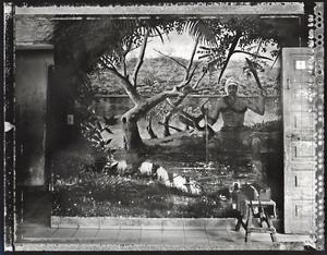 Muertero Casa Mural, el Cobre, 2002. © Elaine Ling