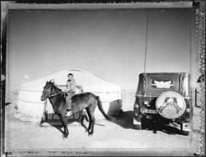 Boy Jockey (Nomadic Mongolia #37), 2004. © Elaine Ling