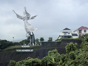 Christ Blessing. Manado, Indonesia, 30 m (98.5 ft). Built in 2007 © Fabrice Fouillet