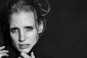 Jessica Chastain Interview, New York 2011 © Peter Lindbergh