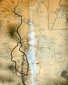 Cartographic Stain                        © Paul Thulin